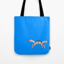 Lonely Crab - Blue Tote Bag
