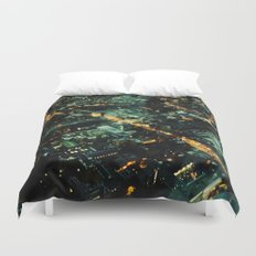 72 Floors Up Duvet Cover
