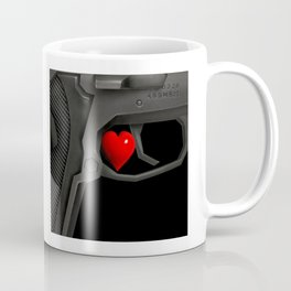 Wait! Guns, firearms power Coffee Mug