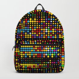 Dots Matrix Abstract Pattern Backpack