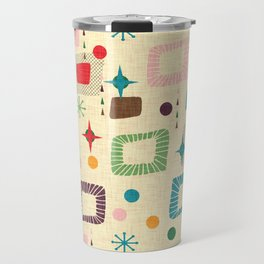 Atomic pattern Travel Mug