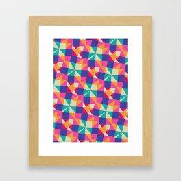 NAPKINS Framed Art Print
