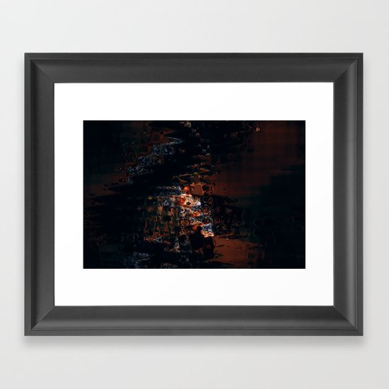 Storm Queen Framed Art Print