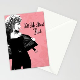 Olivia Newton-John Sandy in Grease Tell Me About It Stud Stationery Cards