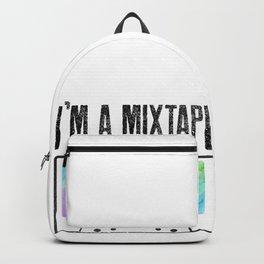 Mixtape Cassette Gay Lesbian Homo CSD Gift Backpack