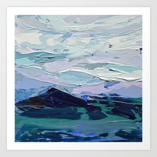 Blue Ridge Peak Art Print