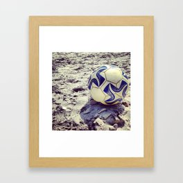 Pelota Framed Art Print