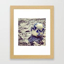 Pelota Framed Art Print