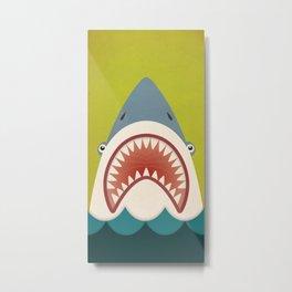 Shark Fowler Metal Print