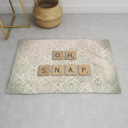 OH SNAP! Scabble Tile Wall Art Rug