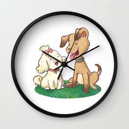 Spavinho e bonequinha  (Spavinho and Little Doll) Wall Clock