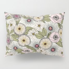 Australian garden chalk Pillow Sham