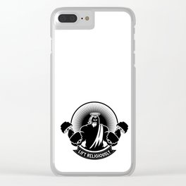 Lift Religiously Clear iPhone Case