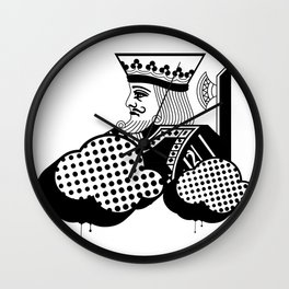 """Friend of The KiNG"""" Wall Clock"""