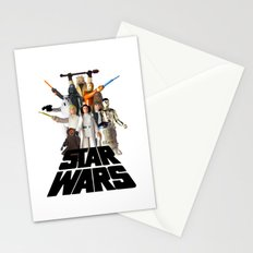 Star War Action Figures Poster Stationery Cards