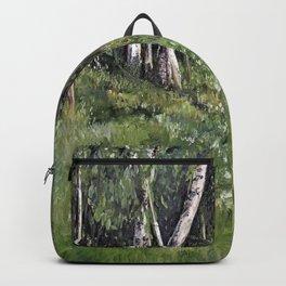 Woodland Forest Landscape Nature Art Backpack