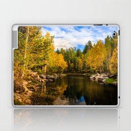 Autumn, Hidden Lake Laptop & iPad Skin