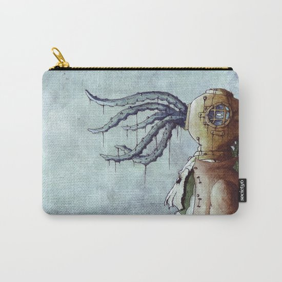 The Octopus Man Carry-All Pouch