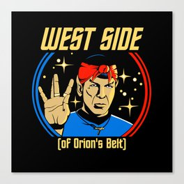 West Side - Spock Canvas Print