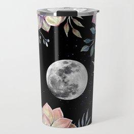 succulent full moon 4 Travel Mug