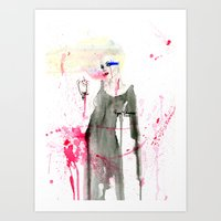 Here at the End Art Print