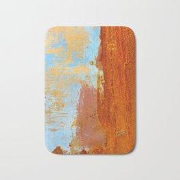 Gold & Rust Bath Mat