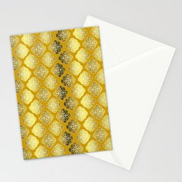 Shades Of Gold Stationery Cards