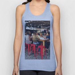 Lunch together Unisex Tank Top
