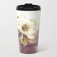 Lonely blossom Metal Travel Mug