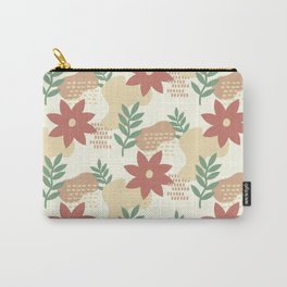 Abstract Nature Pattern  Carry-All Pouch
