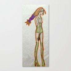 Alien braid. Canvas Print