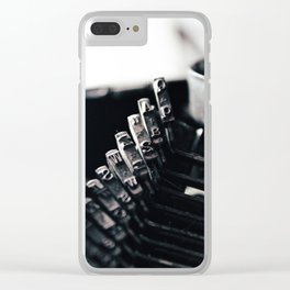 Typing... Clear iPhone Case
