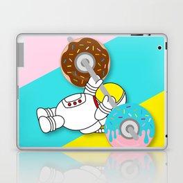 Astro Donut Dumbbell | Astronaut | Cosmonaut | pulps of wood Laptop & iPad Skin