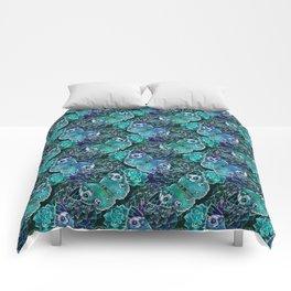 Butterflies In Blue Comforters