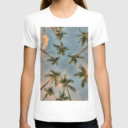 Palm Trees Grow Into Sky T-shirt