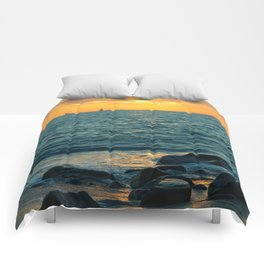 Sunset Sail Comforters