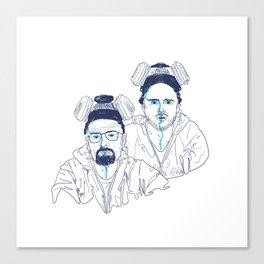 WALTER & JESSE Canvas Print