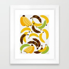 Banana Harvest Framed Art Print