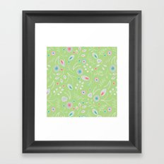 Lacey Flowers Framed Art Print