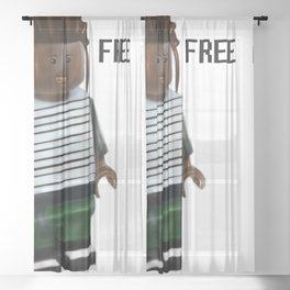 Free A$AP Sheer Curtain