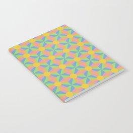 Vibrant Psychedelic Pattern Notebook