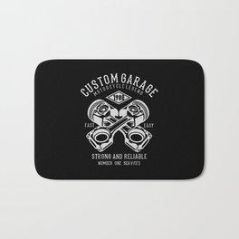 custom garage Bath Mat