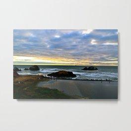 Sutro Sunset Metal Print