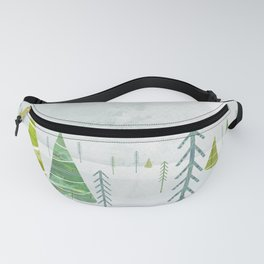 Christmas Forest Fanny Pack