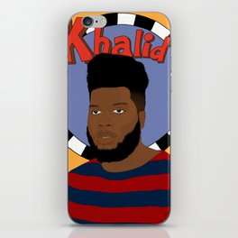 Khalid iPhone Skin