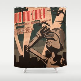 Propaganda Series 2 Shower Curtain