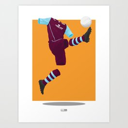 Burnley 2013/14 -  Art Print