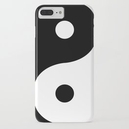 Yin And Yang Sides iPhone Case