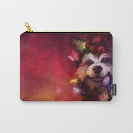 Husky Holidays Carry-All Pouch
