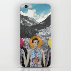 MOUNTAIN ANATOMY iPhone & iPod Skin